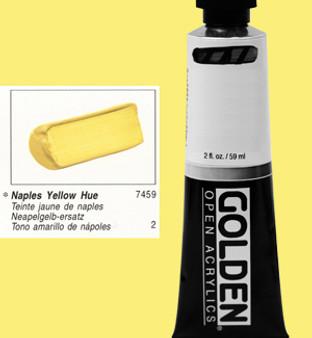 Golden Open Acrylic 2oz Naples Yellow Hue