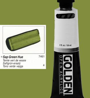 Golden Open Acrylic 2oz Sap Green Hue