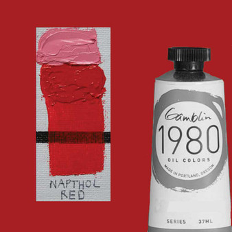 Gamblin 1980 Oil Paint 37ml Naphthol Red
