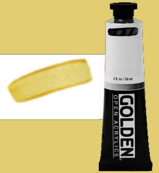 Golden Open Acrylic 2oz Iridescent Bright Gold Fine