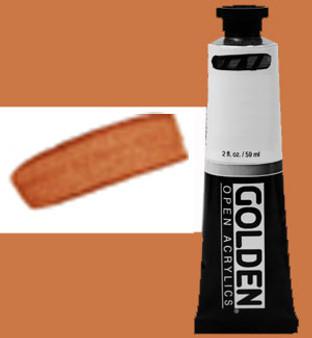 Golden Open Acrylic 2oz Iridescent Copper Fine