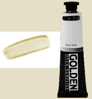 Golden Open Acrylic 2oz Iridescent Gold Fine