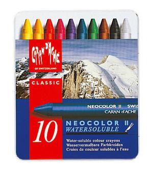 Caran d'Ache Neocolor II 10 Color Set
