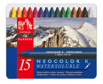 Caran d'Ache Neocolor II 15 Color Set