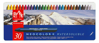 Caran DAche Neocolor II 30 Color Set
