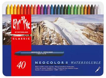 Caran d'Ache Neocolor II 40 Color Set