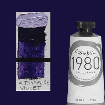 Gamblin 1980 Oil Paint 37ml Ultramarine Violet