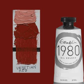 Gamblin 1980 Oil Paint 37ml Venetian Red