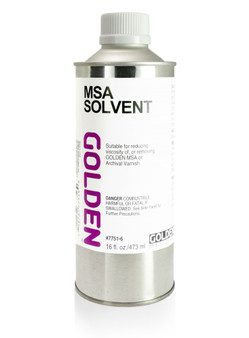 Golden MSA Solvent 16oz - U.S. Domestic Ground Shipping Only