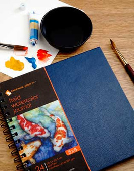 Hand Book Journal Co. Field Book Hardbound Watercolor 7x10