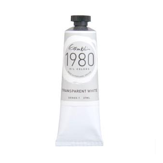 Gamblin 1980 Oil Paint 37ml Transparent White