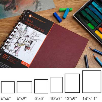 Hand Book Journal Co. Field Book Hardbound Sketch 6x6