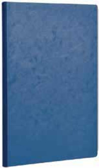 Clairefontaine Basic Clothbound 8.25x11.75 Ruled Blue