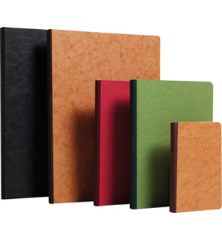 Clairefontaine Basic Clothbound 6x8.25 Ruled Black