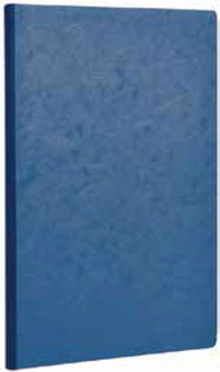 Clairefontaine Basic Clothbound 6x8.25 Ruled Blue