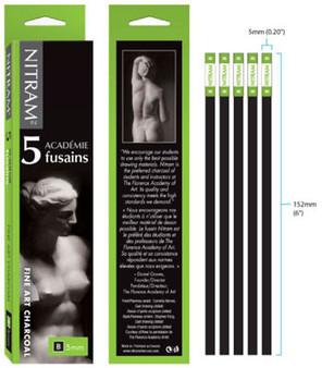 Nitram Charcoal 5pk B Soft