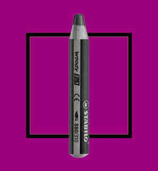 Stabilo Woody 3-In-One Watercolor Pencil Lilac