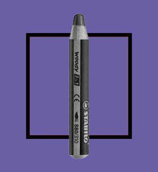 Stabilo Woody 3-In-One Watercolor Pencil Violet