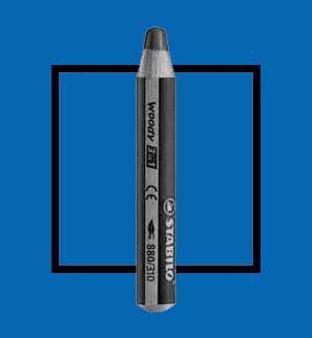 Stabilo Woody 3-In-One Watercolor Pencil Ultramarine Blue