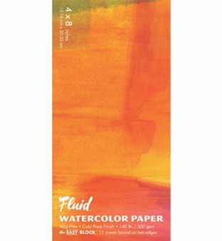 Fluid Watercolor Easy-Block 4x8