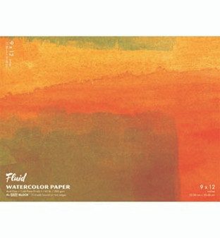 Fluid Watercolor Easy-Block 12x16