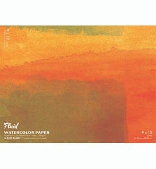 Fluid Watercolor Easy-Block 16x20