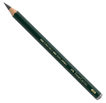 Faber-Castell 9000 Jumbo Drawing Pencil 2B