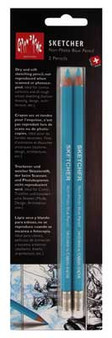 Caran d'Ache Sketcher Non-Photo Blue Pencil 2pk