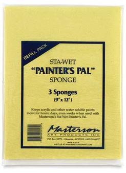 Masterson's Refill Sponge for 9x12 Sta-Wet Palette