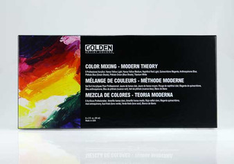 Golden Acrylic Color Mixing Set Modern Theory