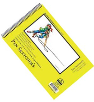 Bee Paper Sketch Pad Pen Sketchers 5.5x8.5 50sh