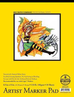Bee Paper Artist Marker Pad 8.5x11