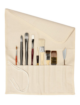 Jack Richeson Canvas Brush Roll-Up