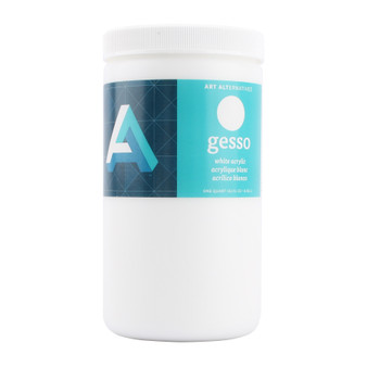 Art Alternatives Economy White Acrylic Gesso Quart 32oz