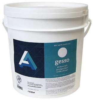 Art Alternatives Economy White Acrylic Gesso Gallon 128oz