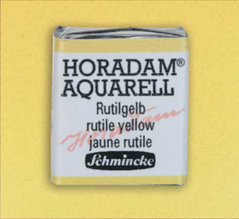 Schmincke Horadam 1/2 Pan Watercolor Rutile Yellow - 205