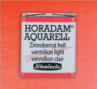 Schmincke Horadam 1/2 Pan Watercolor Vermilion Light - 342
