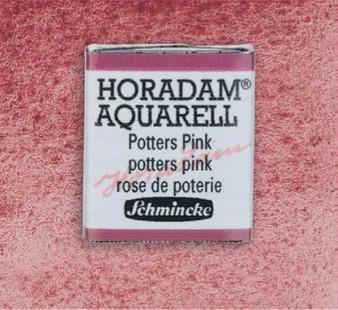Schmincke Horadam 1/2 Pan Watercolor Potter's Pink - 370