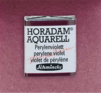 Schmincke Horadam 1/2 Pan Watercolor Perylene Violet - 371