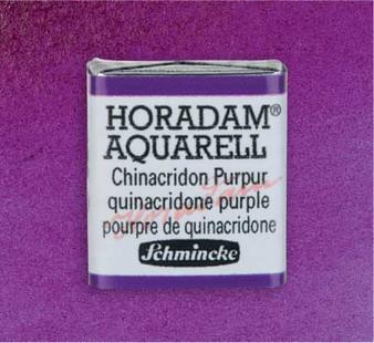Schmincke Horadam 1/2 Pan Watercolor Quinacridone Purple -472