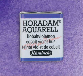 Schmincke Horadam 1/2 Pan Watercolor Cobalt Violet Hue - 473