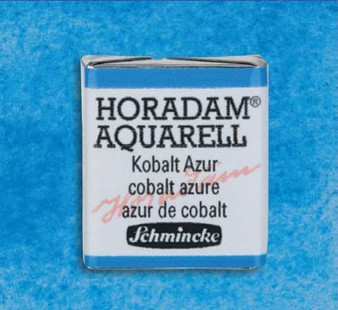 Schmincke Horadam 1/2 Pan Watercolor Cobalt Azure - 483