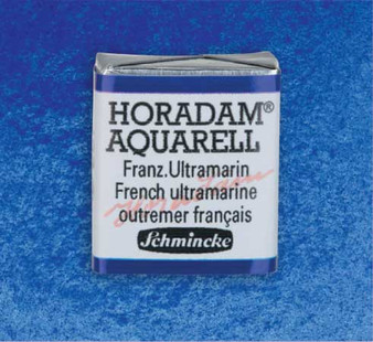 Schmincke Horadam 1/2 Pan Watercolor French Ultramarine - 493