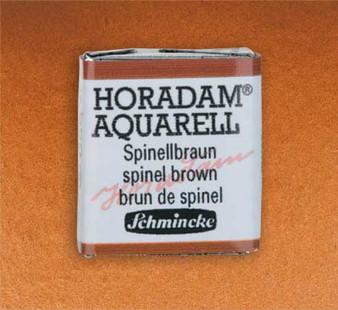 Schmincke Horadam 1/2 Pan Watercolor Spinel Brown - 650
