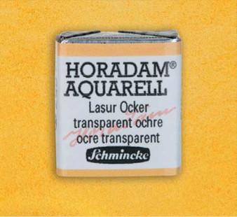 Schmincke Horadam 1/2 Pan Watercolor Transparent Ochre - 657