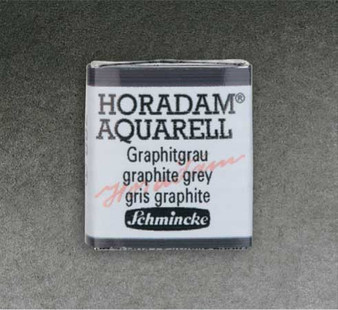 Schmincke Horadam 1/2 Pan Watercolor Graphite Grey - 788