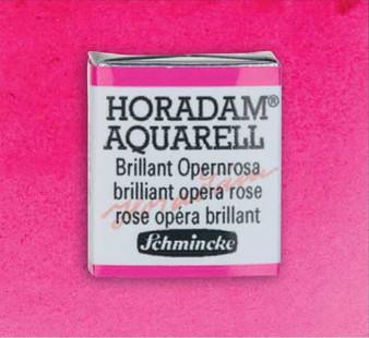 Schmincke Horadam Aquarell 1/2 Pan Watercolor Brilliant Opera Rose - 920