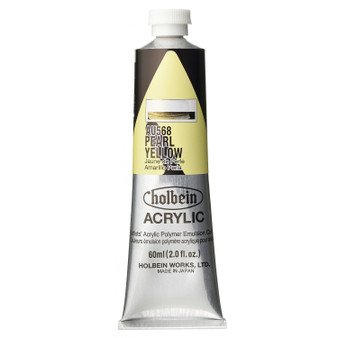 Holbein Heavy Body Acrylic 60 ml Pearl Yellow
