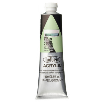 Holbein Heavy Body Acrylic 60 ml Pearl Green