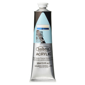 Holbein Heavy Body Acrylic 60 ml Pearl Blue